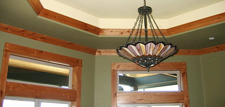 Custom Ceiling Moulding - All Trades GC